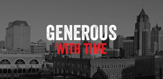 Generous with Time
